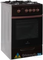 Плита газовая GRETA модель 20 коричневая - Плиты газовые  - интернет-магазин Газовик - уменьшенная копия