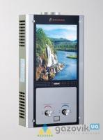 Колонка газовая Savanna 18кВт 10л LCD стекло Водопад - Колонки газовые - интернет-магазин Газовик - уменьшенная копия