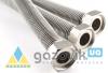 Шланг металлический Нержавеющий д/газа  d.12  1/2 ВB (ВЗ) 100см - Запчасти - интернет-магазин Газовик - уменьшенная копия