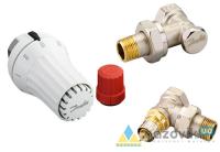 Комплект для бокового подключения Danfoss (RAE + RA-N + RLV-S), D 1/2, угловой (013G5173) - Терморегуляторы - интернет-магазин Газовик