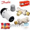 Комплект термостатический Клапан, Ду 15 и термоголовка Danfoss RAS-C2, угловой - Терморегуляторы - интернет-магазин Газовик - уменьшенная копия