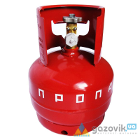 Баллон газовый Novogas 5л (Беларусь) - Баллоны  - интернет-магазин Газовик