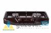 Плита газовая GRETA двухгорелочная настольная модель 1103 без крышки коричневая - Плиты газовые  - интернет-магазин Газовик - уменьшенная копия