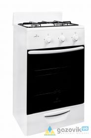 Плита двухгорелочная газовая GR модель 1201-10 белая - Плиты газовые  - интернет-магазин Газовик