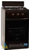 Плита двухгорелочная газовая GRETA GR модель 1201-10 коричневая - Плиты газовые  - интернет-магазин Газовик - уменьшенная копия