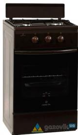 Плита двухгорелочная газовая GR модель 1201-10 коричневая - Плиты газовые  - интернет-магазин Газовик