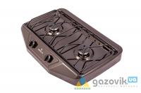 Плита газовая настольная GRETA 1103 корич - Плиты газовые  - Интернет-магазин Газовик