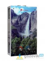 Колонка газовая Savanna 18кВт 10л LCD стекло Водопад - Колонки газовые -