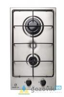 Стол встроенный GRETA модель СВ 2 нержавейка эл.поджиг - Плиты газовые  - интернет-магазин Газовик - уменьшенная копия