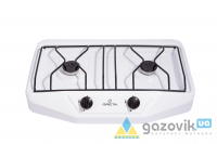 Плита газовая настольная GRETA 1103 белая - Плиты газовые  -