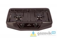 Плита газовая настольная GRETA 1103 корич - Плиты газовые  -