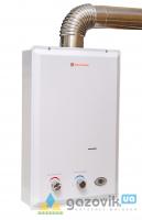 Колонка газовая Savanna 18кВт 10л LCD  турбо белая - Колонки газовые - интернет-магазин Газовик - уменьшенная копия